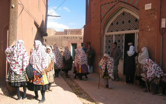 Abyaneh People - Abyaneh - Isfahan - Persia in Leisure Iran Tour Highlight