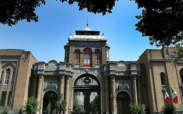 Bagh-e Melli Gate - National Garden Gate - Tehran - Persia in Leisure Iran Tour Highlight