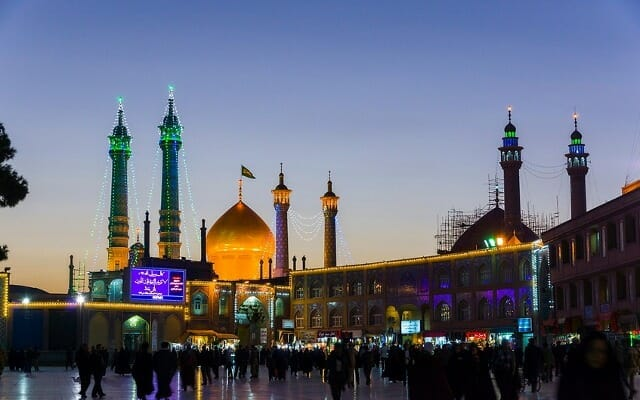 Fatima Mauemeh Shrine - Qom, Iran - Simply Persia Iran Tour Highlight