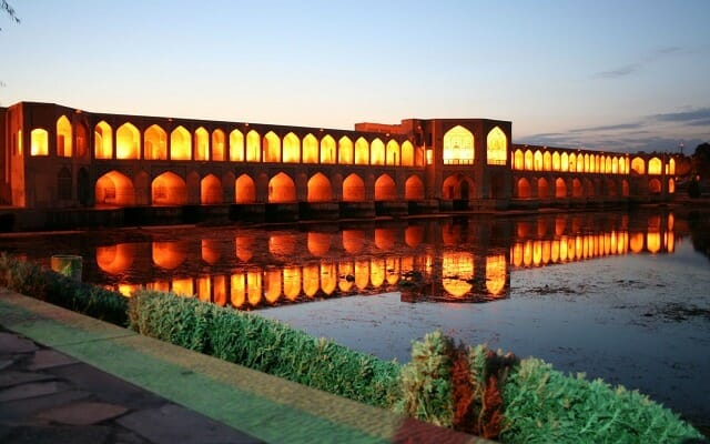 Khaju Bridge - Isfahan - Express Persia Iran Tour Highlight