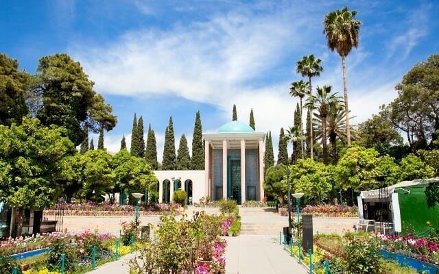 Mausoleum of Sa'di - 13th-century poet - Shiraz - Simply Persia Iran Tour Highlight