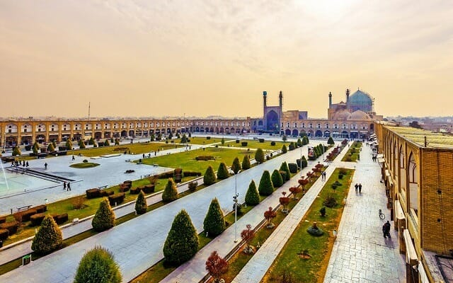 Naqsh-e Jahan Square - UNESCO World Heritage Site - Isfahan - Ultimate Persia Iran Tour Highlight