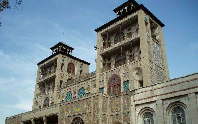 Shams-ol-Emareh Building - Golestan Palace - UNESCO World Heritage Site - Tehran - Iran