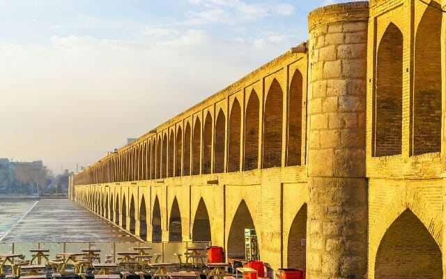 Si-o-Seh Pol - 33 Bridge - Isfahan - Express Persia Iran Tour Highlight