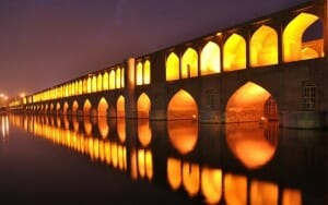 Si-o-Seh Pol, 33 Bridges - Isfahan - Express Persia Iran Tour Highlight