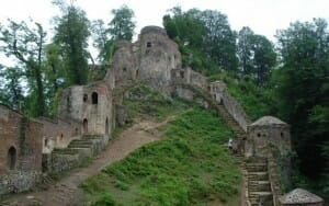 Roudkhan Castle - Gilan - Caspian Sea Extension Iran Tour Highlight