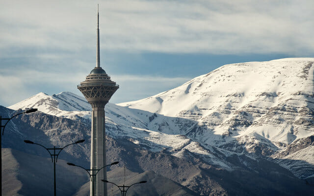 Tehran in Winter - Iran Ski Tour